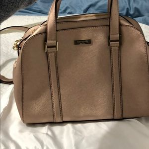 Kate space perfect condition rose gold bag